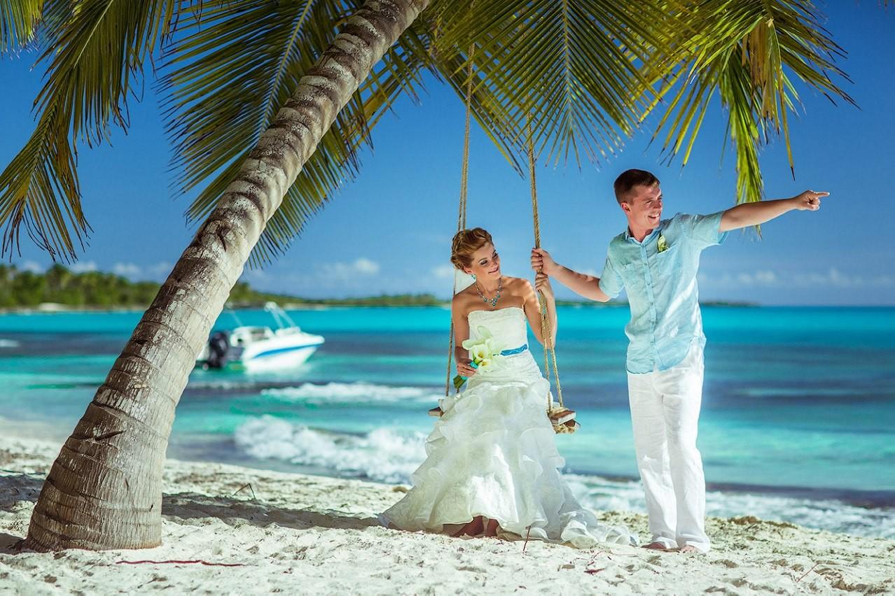 Платье для свадьбы в доминикане